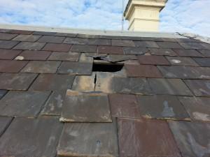 Carlton roof slate repairs