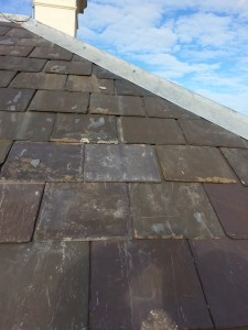 Damaged slate repairs Carlton