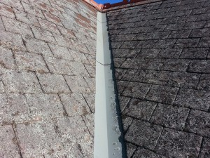 Moonee Ponds slate roof with valleys installed
