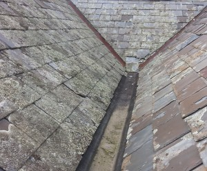 Moonee Ponds damaged slate roof needing repairs