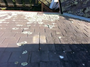 repairs required for leaking slipping roofing slates