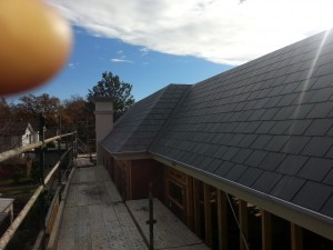 new house slate roof installed Camberwell