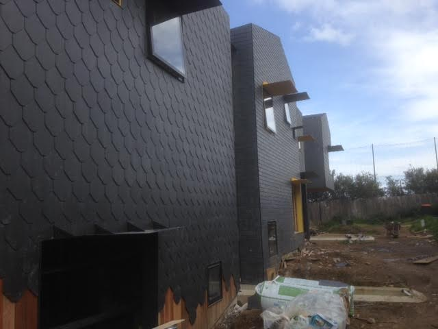 architectural slate walls, siding roofing