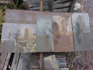 Common old Melbourne slate roofing sizes