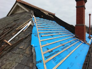 Kew slate roof installation repair