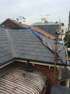 North Melbourne slate roofing