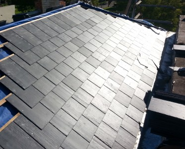 new del carmen roof slate installation