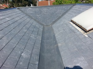 Welsh slates installed on Melbourne home