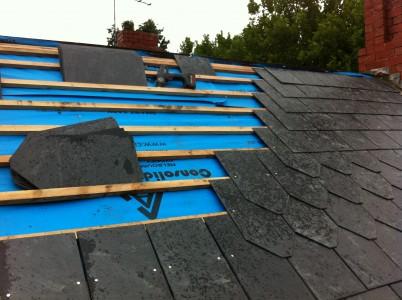 Malvern slate roof renewals