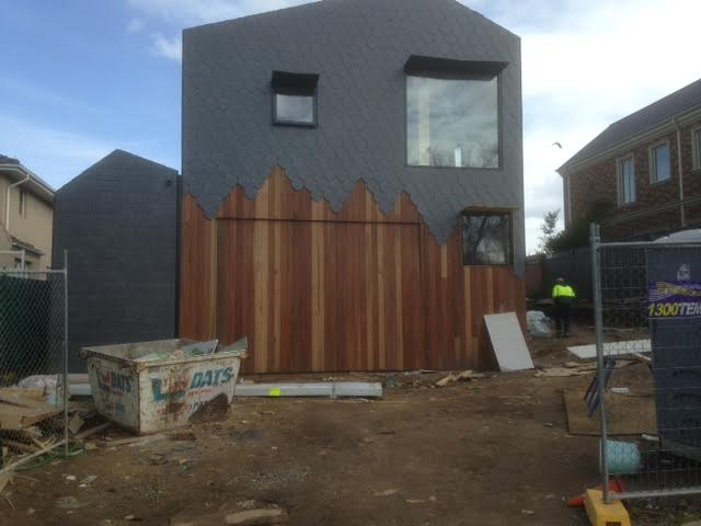 Melbourne architectural slate for walls and roofs