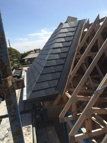 Melbourne French provincial slate roofing